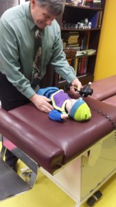baby adjusting